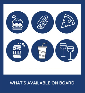 What's Available On Board